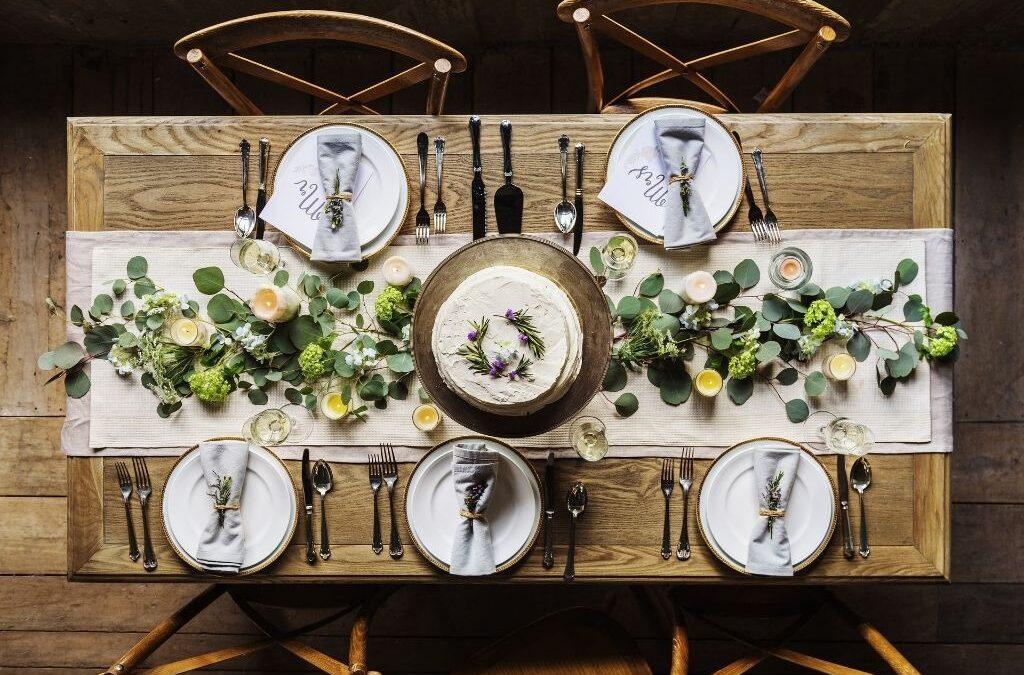 Como montar a mesa de jantar perfeita