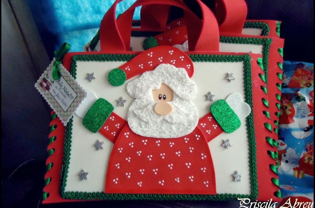 Faça você mesmo: lembrancinhas de Natal em EVA